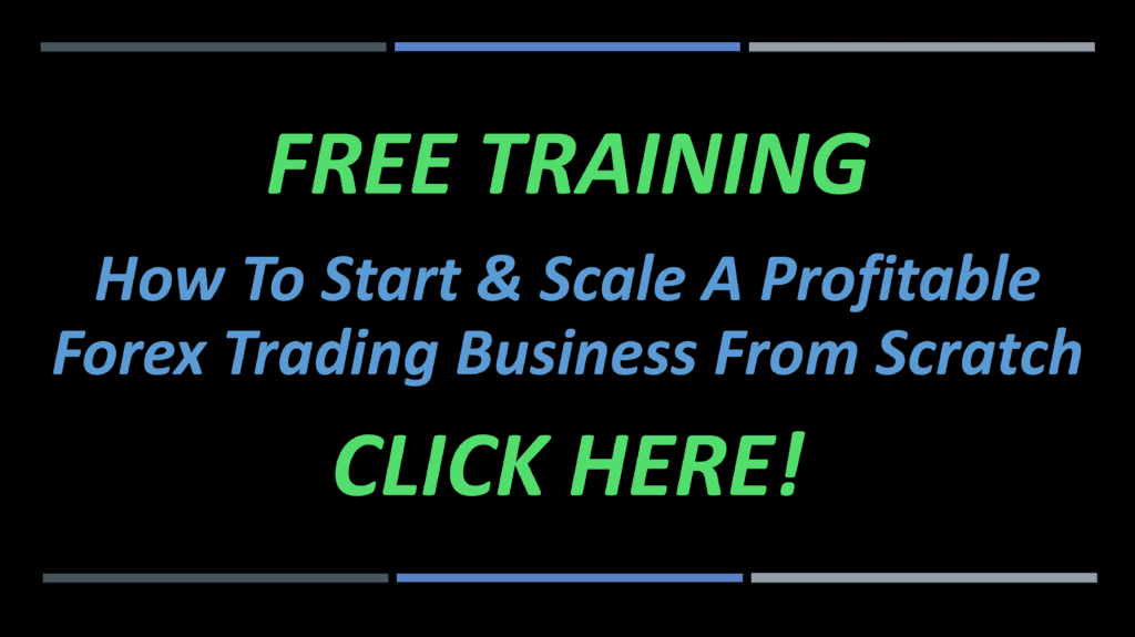 writing free training in green and click here in green